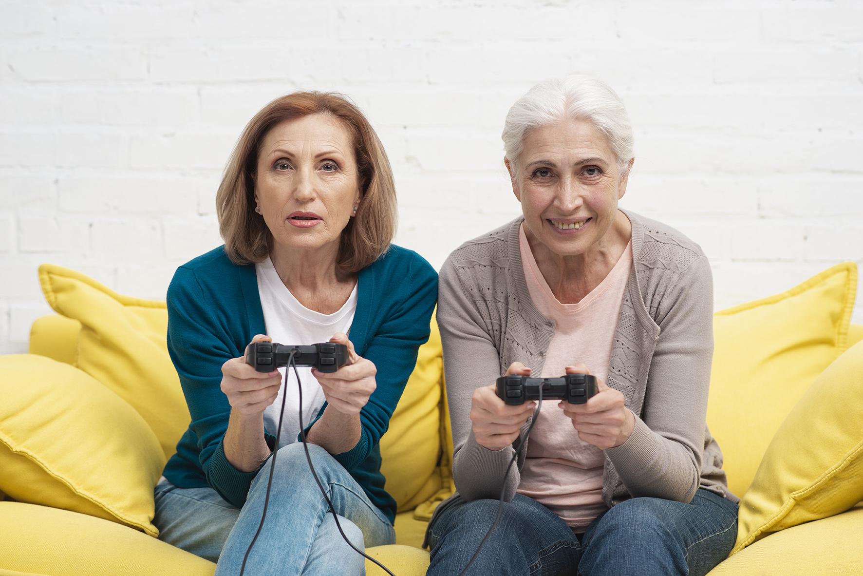 C@FÉ NUMÉRIQUE - Il n'y a pas d'âge pour le jeu-vidéo!
